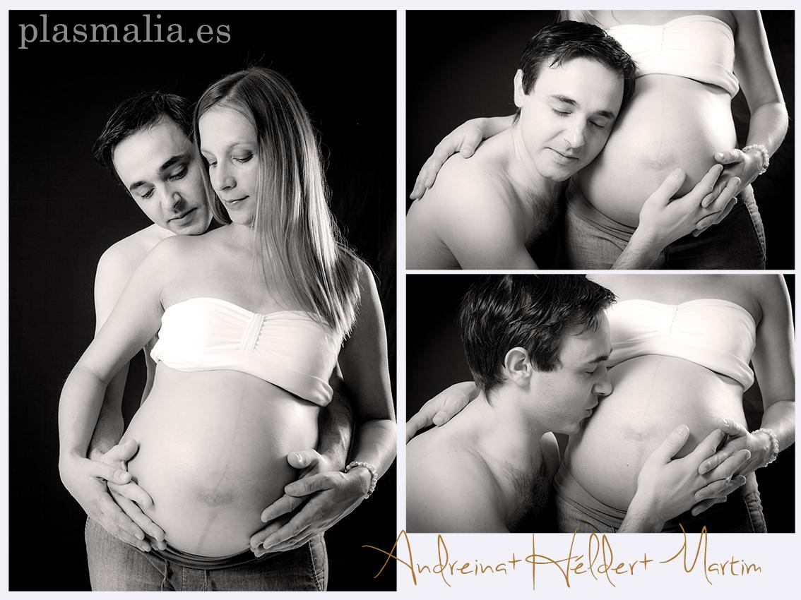 Montaje embarazada