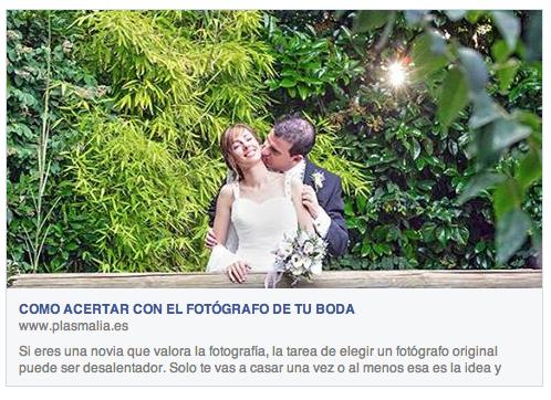 Articulo cómo elegir fotógrafo original para tu boda