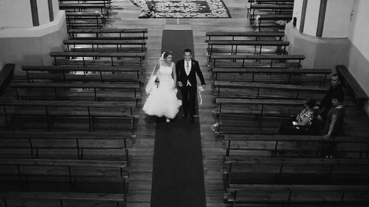 Fotos de la iglesia en una boda