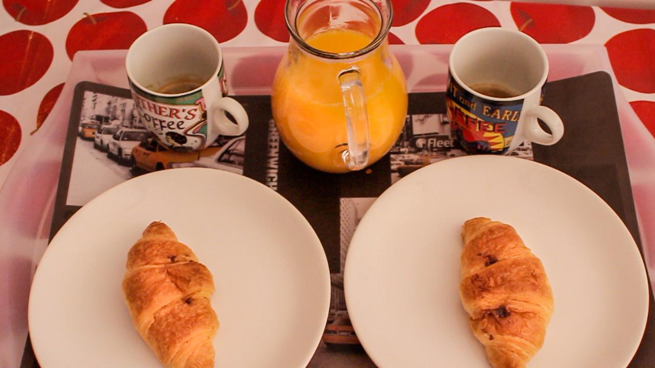 desayuno para la novia