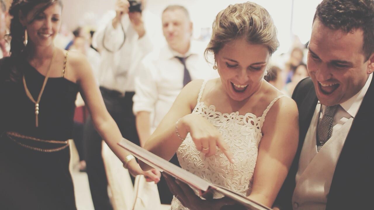 Regalos para los novios el día de su boda